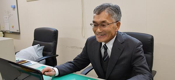 営業課 係長 金澤 一夫